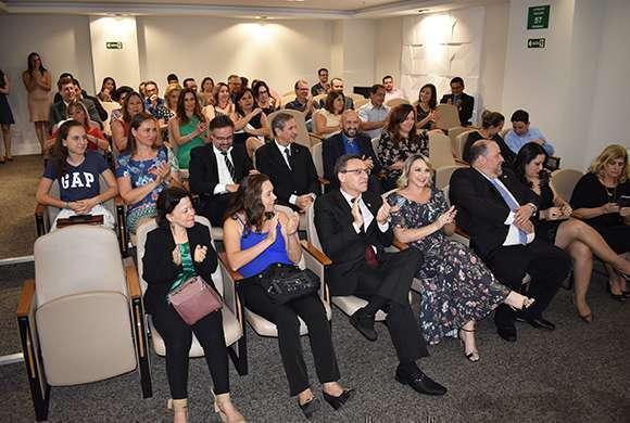 Público presente na cerimônia