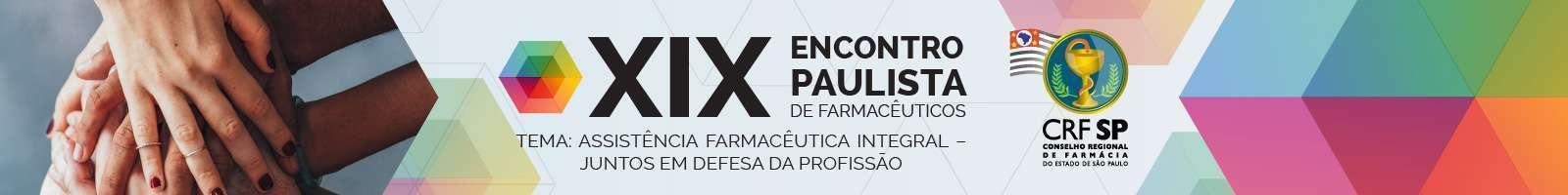 XIX Encontro Paulista de Farmacêuticos [rotativo 2]