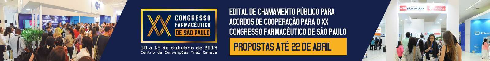 XX Congresso: Chamamento Público